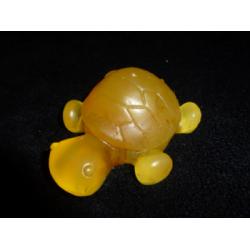 """Ručně vyráběné mýdlo """"želva"""" s měsíčkem a citrónem"""
