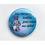 """Placka """"Kdo má doma králíka...""""II."""