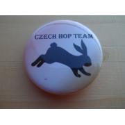 """Placka pro králičí hop """"Czech hop team"""""""