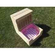 Seník s prostorem pro WC