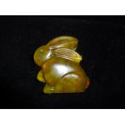 """Ručně vyráběné mýdlo 3D """"Králík"""" s heřmánkem a pomerančem"""